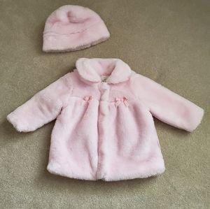 Le Top Fur Coat Hat High Prep Boutique